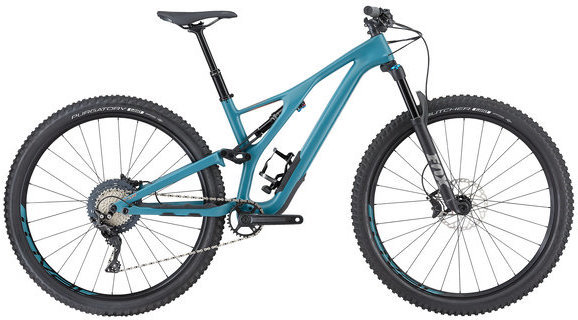 Specialized Women's Stumpjumper ST Comp Carbon 29 Color: Dusty Turquoise/Copper