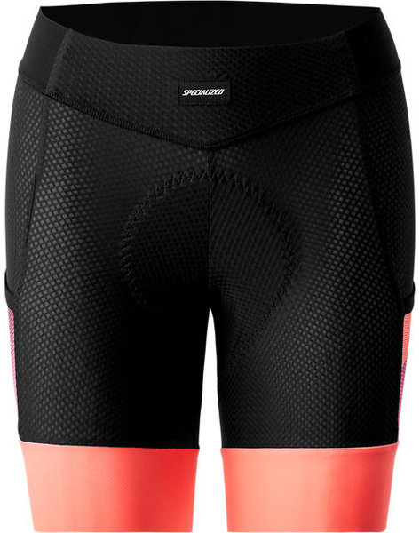 Specialized Women's SWAT Liner Shorts Color: Cast Berry/Acid Lava Hex