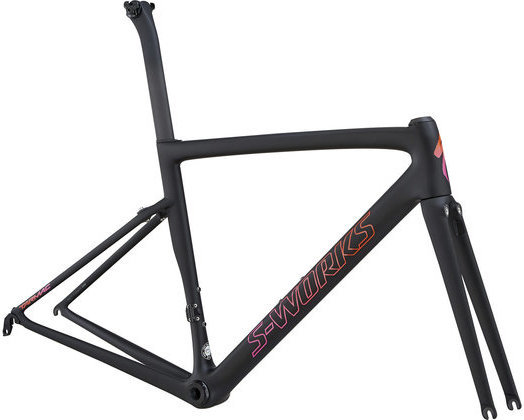 Specialized Women's Tarmac Frameset Color: Satin Gloss Monocoat Black/Aci
