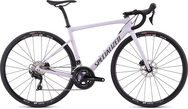 Specialized Women's Tarmac Disc Sport (j2) Color: Gloss UV Lilac/Black Reflective