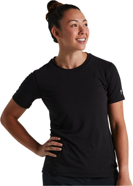 Specialized Women's Trail Short Sleeve Jersey Color: Black
