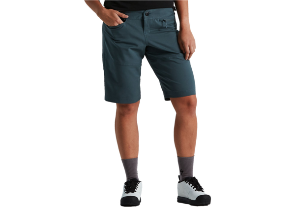 Specialized Women's Trail Short Color: Cast Battleship