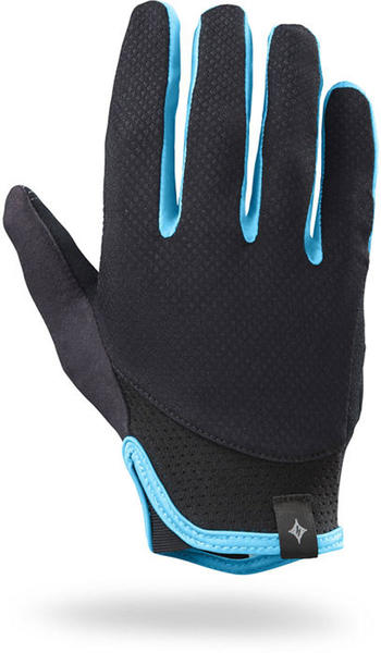 Specialized Trident Long Finger - Women's Color: Black/Turquoise