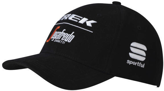 Sportful Trek-Segafredo Podium Cap Color: Trek-Segafredo Black/White
