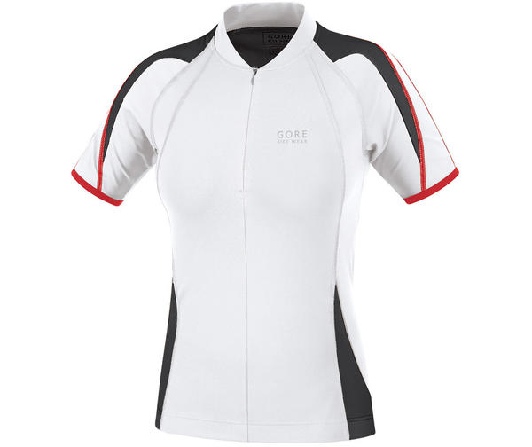 Gore Wear Power 2.0 Lady Jersey Color: White/Black