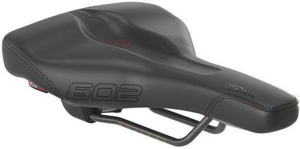 SQlab 602 Ergolux Active Saddle Color: Black