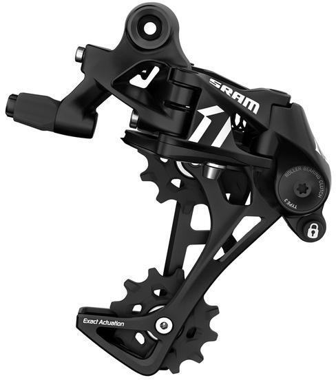 SRAM APEX 1 Long Cage Rear Derailleur Color: Black