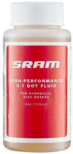 SRAM DOT 5.1 Hydraulic Brake Fluid Size: 4-ounce