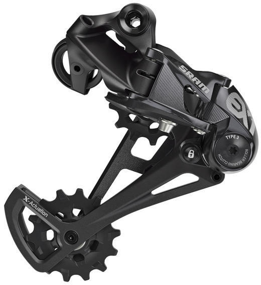SRAM EX1 X-Horizon Rear Derailleur Color: Black