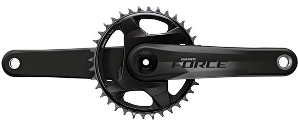 SRAM Force 1 DUB Crankset for Cannondale Ai Color: Natural Carbon