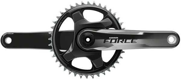 SRAM Force 1 Crankset Color: Gloss Carbon