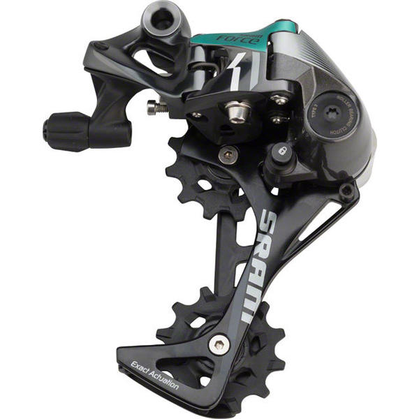 SRAM Force 1 Rear Derailleur Cage Length | Color | Speeds: Long Cage | Gray | 11-speed