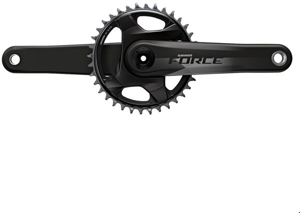 SRAM Force 1 DUB Crankset Color: Natural Carbon