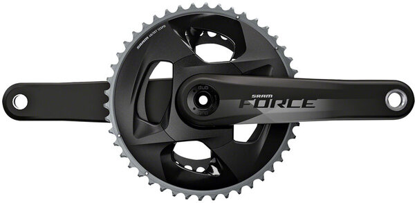 SRAM Force AXS Crankset - Cannondale Ai Color: Natural Carbon