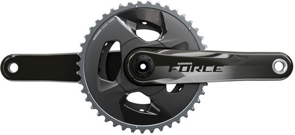 SRAM Force DUB Crankset Color: Gloss Carbon