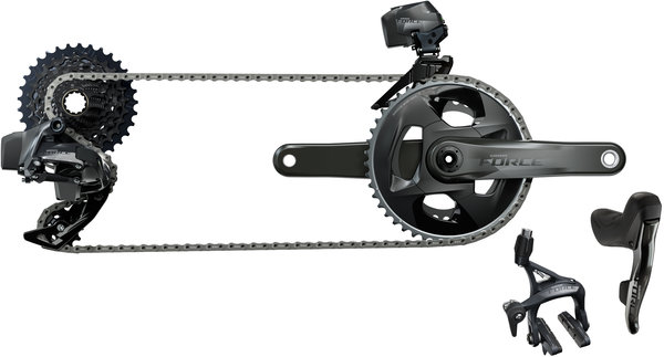 SRAM Force eTap AXS 2x Rim Brake Upgrade Kit