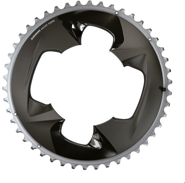 SRAM Force Road Chainring Color: Polar Grey