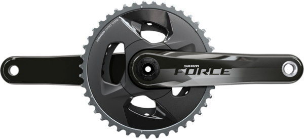 SRAM Force Wide DUB Crankset Color: Natural Carbon