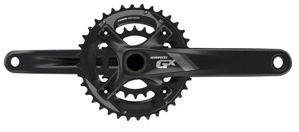 SRAM GX-1000 2x10 Crankset w/All Mountain Chainguard Price listed is for crankset as described (image may differ).