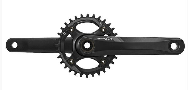 SRAM GX-1400 1x Crankset Color: Black