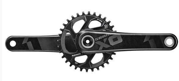 SRAM X01 X-Sync Crankset Color: Black