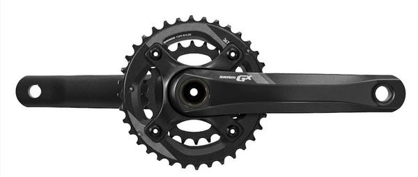 SRAM GX-1400 2x11 Crankset Color: Black