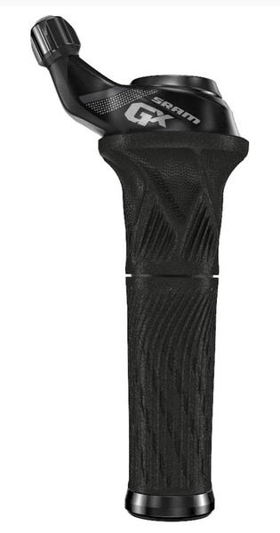 SRAM GX 2x11 Grip Shift (Front) Color: Black