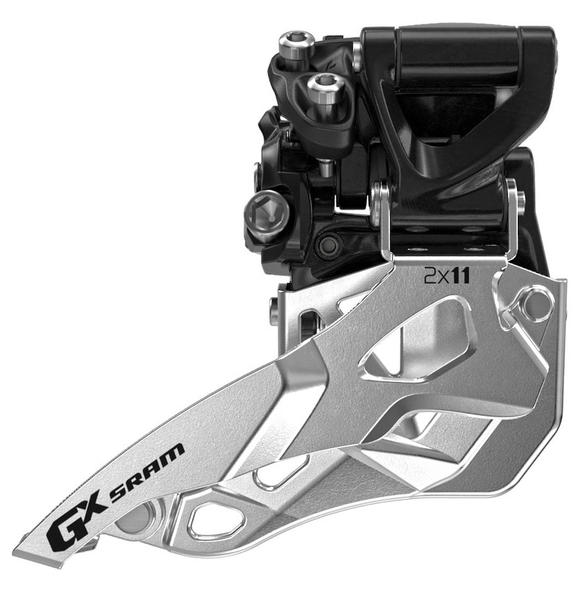 SRAM GX 2x11 Front Derailleur<br>(High-clamp, Bottom-pull)