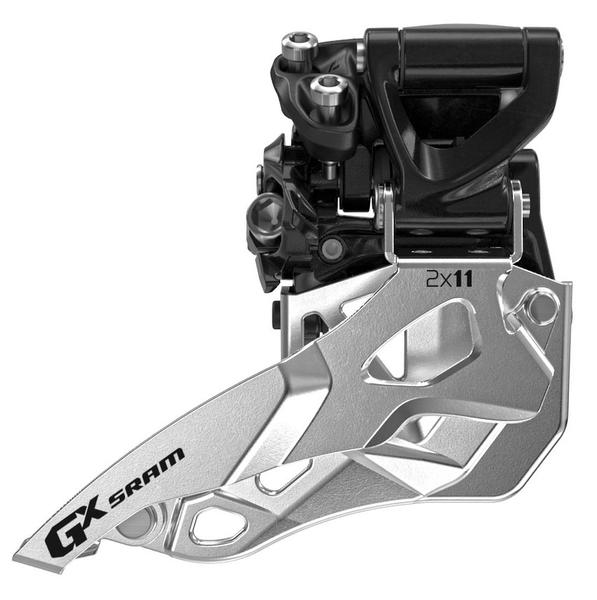 SRAM GX 2x11 Front Derailleur<br> (High-clamp, Top-pull)