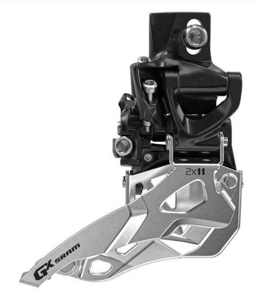 SRAM GX 2x11 Front Derailleur<br>(High Direct-mount, Bottom-pull) Cable Pull | Model: Bottom-pull | High direct-mount