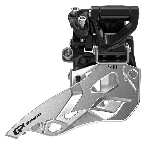 SRAM GX 2x11 Front Derailleur (Mid Direct-mount, Bottom-pull)