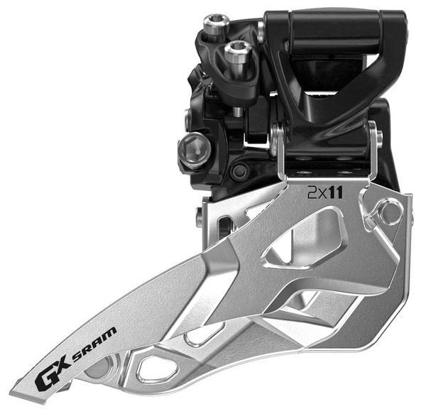 SRAM GX 2x11 Front Derailleur (Mid Direct-mount, Top-pull)
