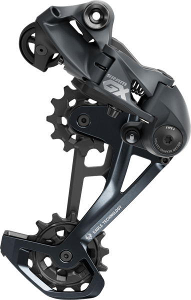 SRAM GX Eagle Rear Derailleur Color: Lunar