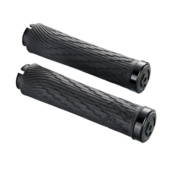 SRAM Locking Grips (For Grip Shift) Color | Length: Black Clamps | 122mm