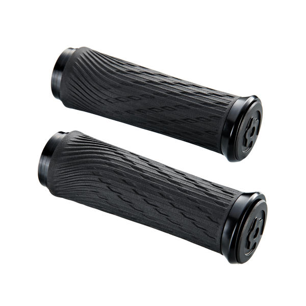 SRAM Locking Grips (For Grip Shift) Color | Length: Black Clamps | 100mm