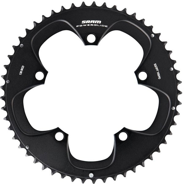 SRAM PowerGlide 10-Speed Chainring BCD: 110mm