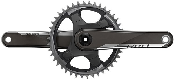 SRAM RED 1x Crankset Image differs from actual product. 42T chainring shown.