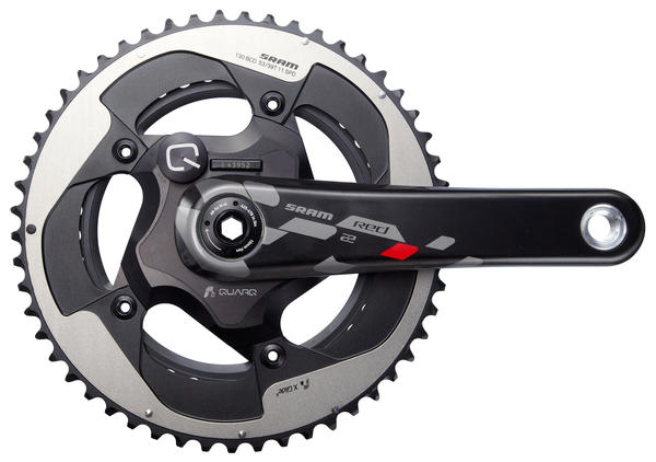 SRAM RED 22 Quarq Power Meter Crankset (No Chainrings)