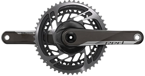 SRAM RED DUB Crankset Color: Natural Carbon