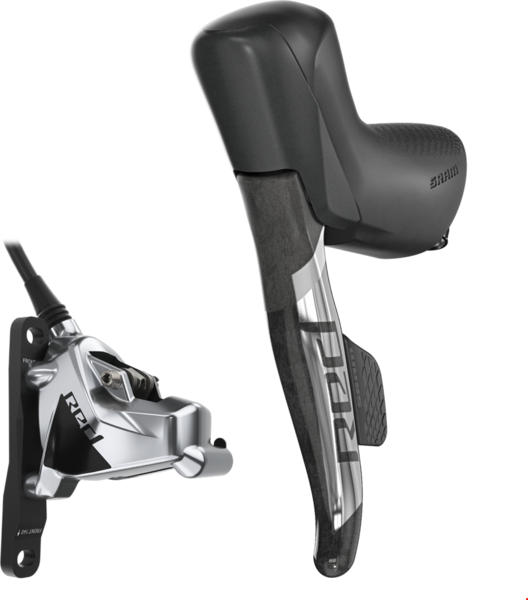 SRAM RED eTap AXS HRD Shift-Brake System Mount Type: Post Mount