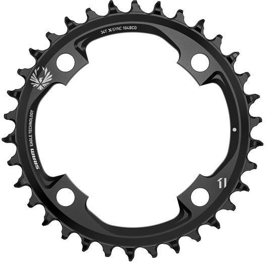 SRAM X-Sync 2 Eagle Chainring Color: Black