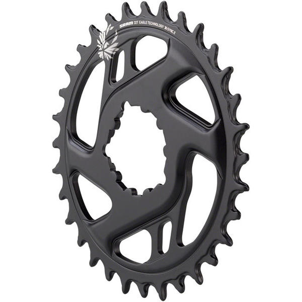 SRAM X-Sync 2 Eagle Direct Mount Chainring Color | Offset | Size | Speeds: Black | 3mm | 32T | 10/11/12-speed
