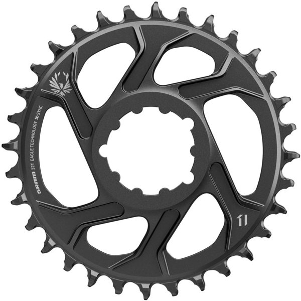 SRAM X-Sync 2 SL Eagle Direct Mount Chainring Color: Black