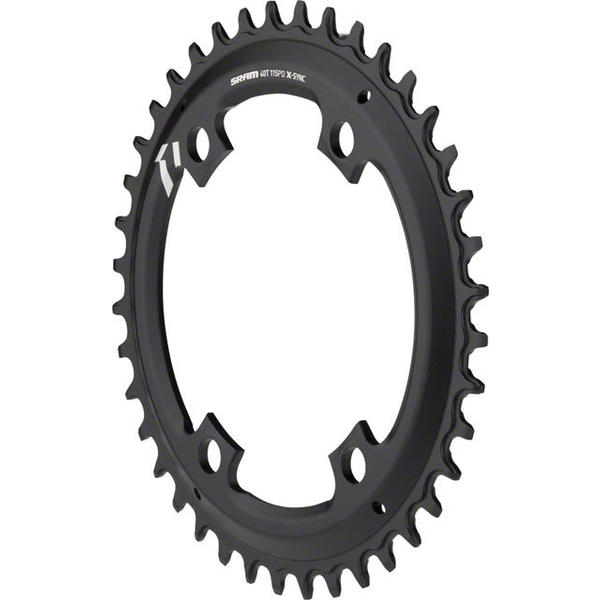 SRAM X-Sync Asymmetric BCD Chainring BCD | Color | Size | Speeds: 110mm | Black | 40T | 10/11-speed