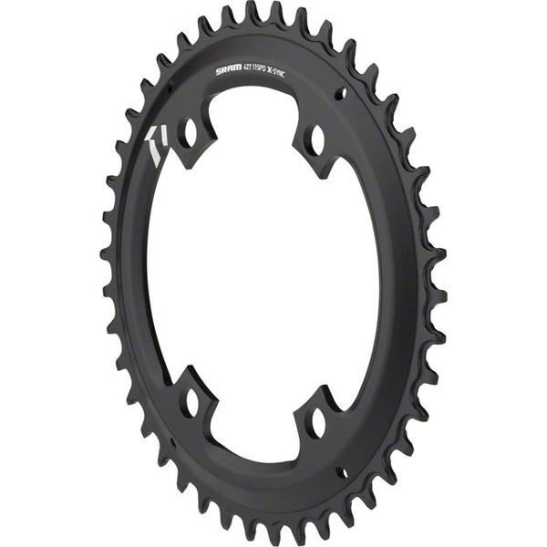 SRAM X-Sync Asymmetric BCD Chainring BCD | Color | Size | Speeds: 110mm | Black | 42T | 10/11-speed