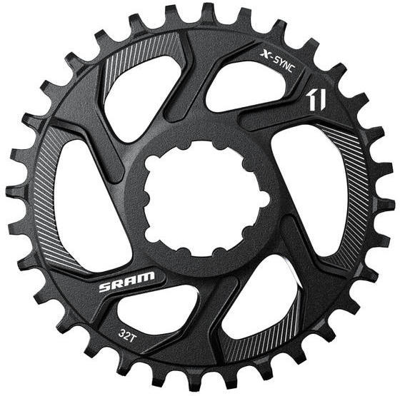 SRAM X-Sync Direct Mount Chainring Color: Black