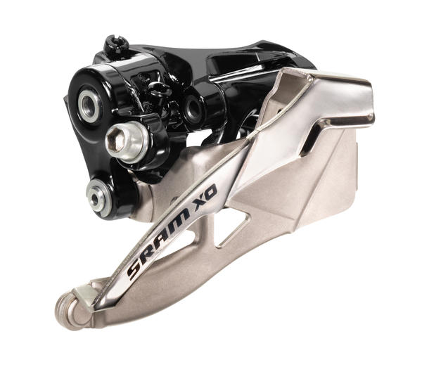 SRAM X0 2x10 Front Derailleur (High-clamp, top-pull)