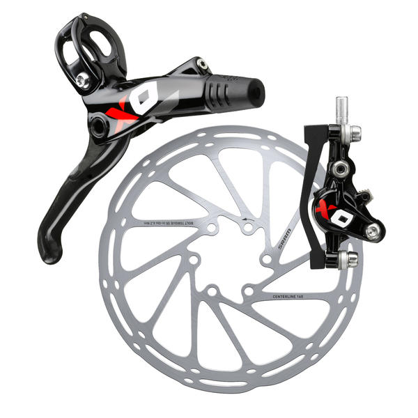 SRAM X0 Disc Brake Rotor and bracket sold separately
