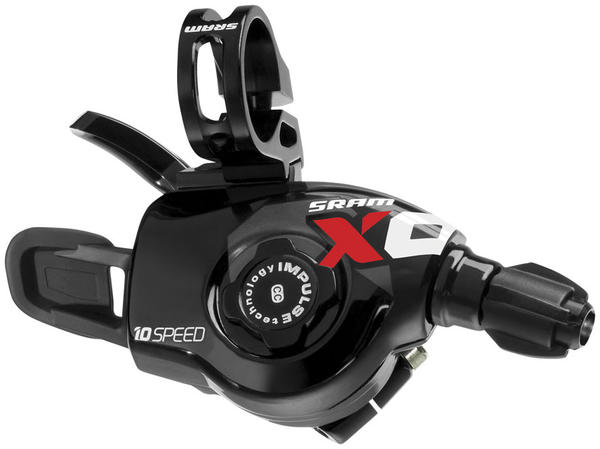 SRAM X0 Trigger Shifter Set Color: Red