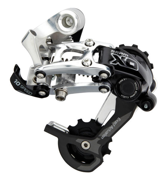 SRAM X0 Type 2.1 Rear Derailleur Color: Silver